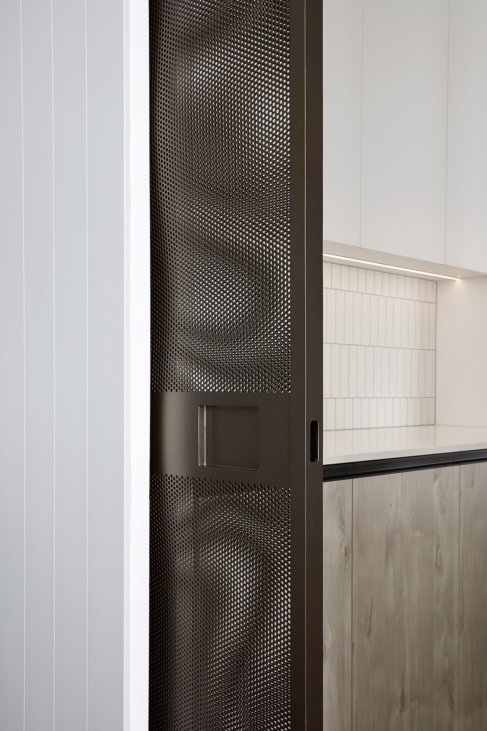 Brompton residential construction pantry detail