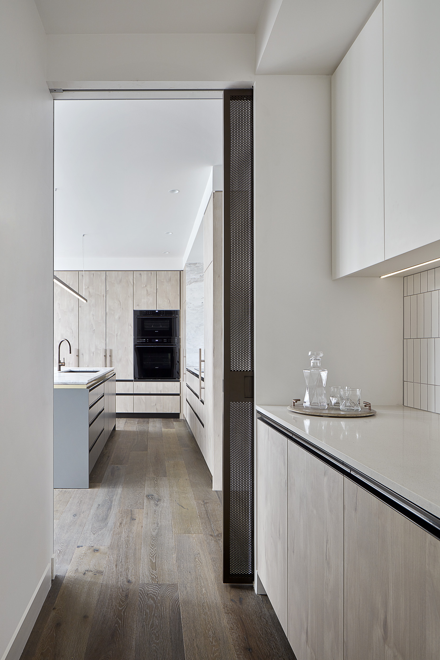 Brompton residential construction kitchen pantry