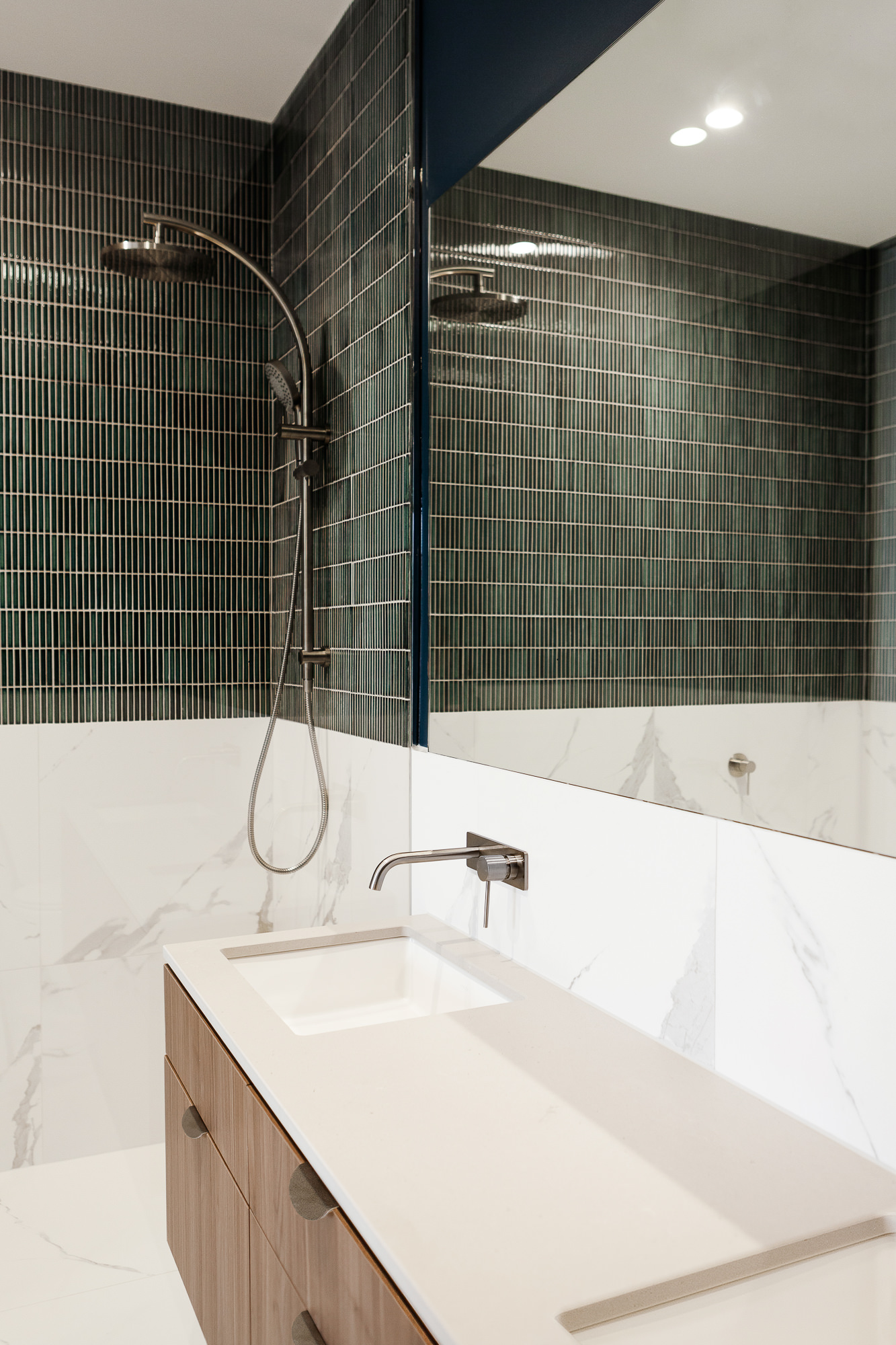 Brompton residential construction bathroom