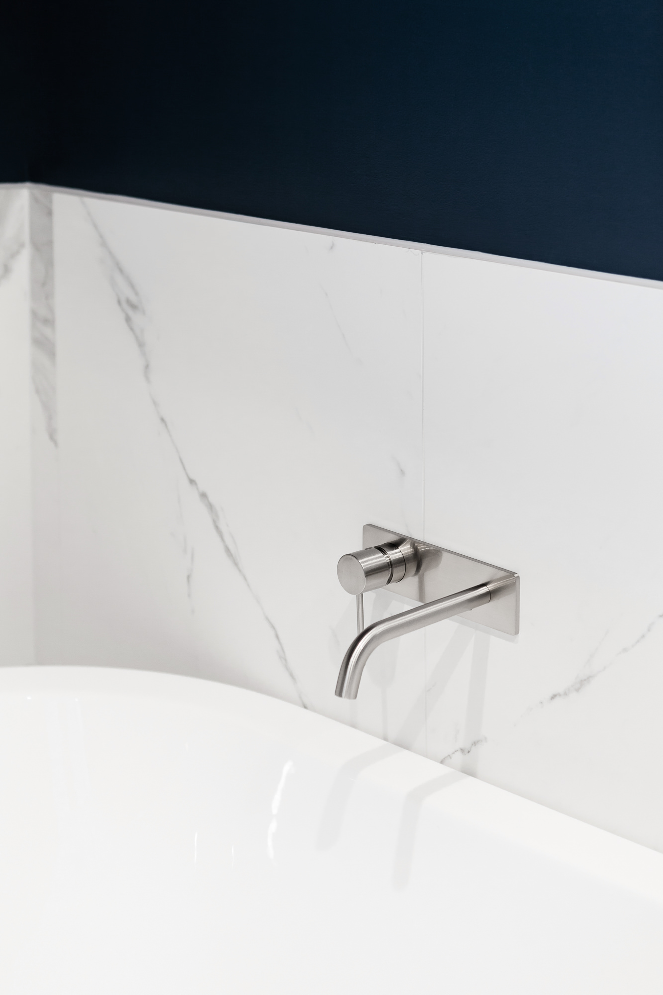 Brompton residential construction bathroom detail