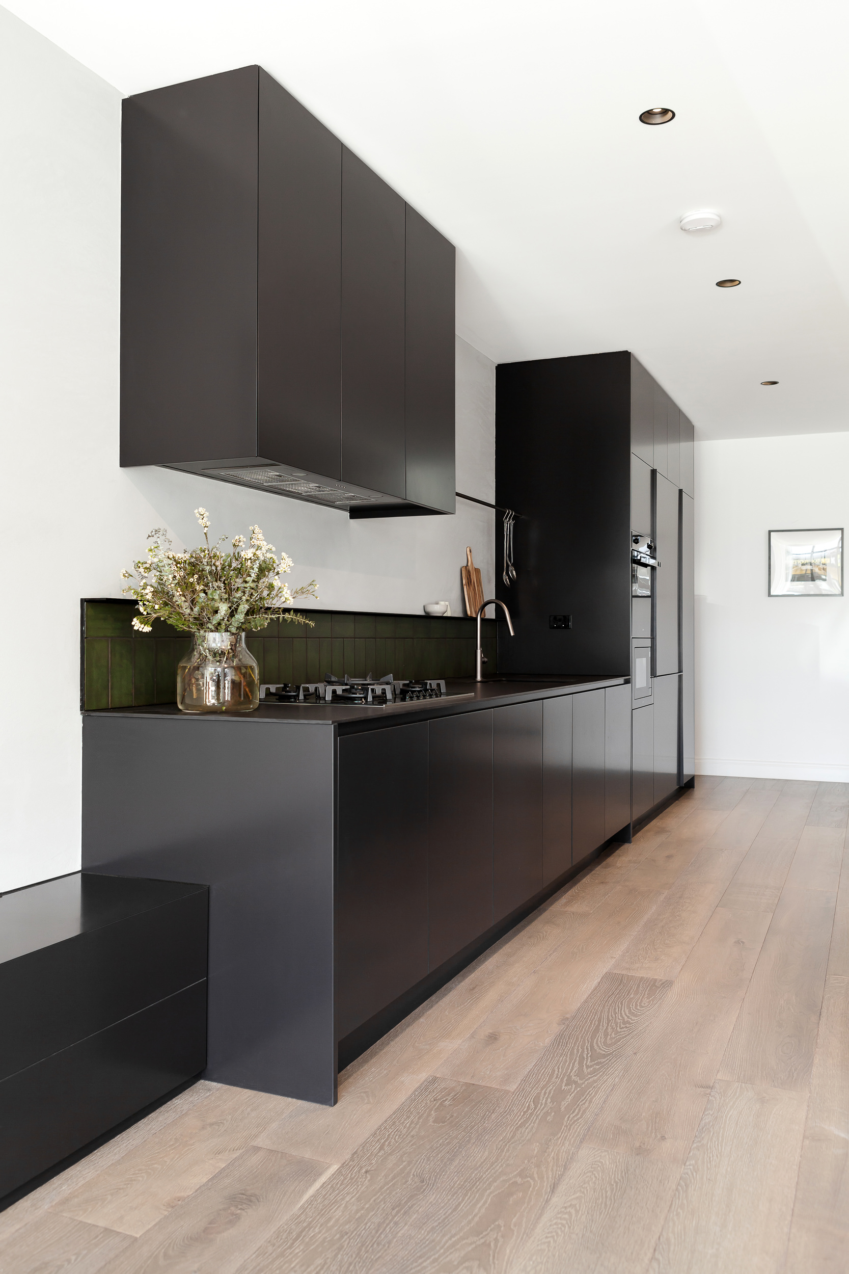 Brompton residential construction kitchen