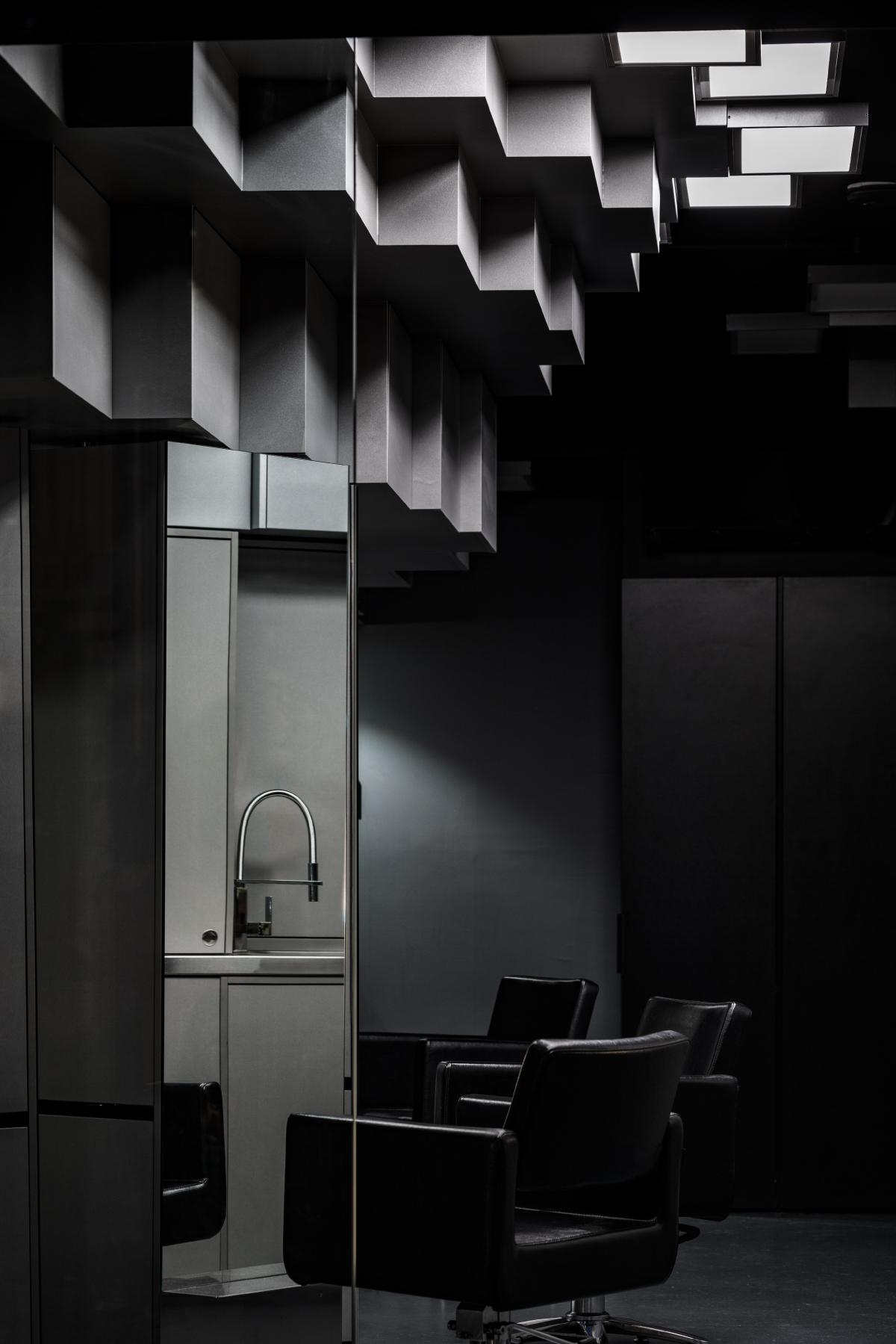 Brompton commercial construction hair salon